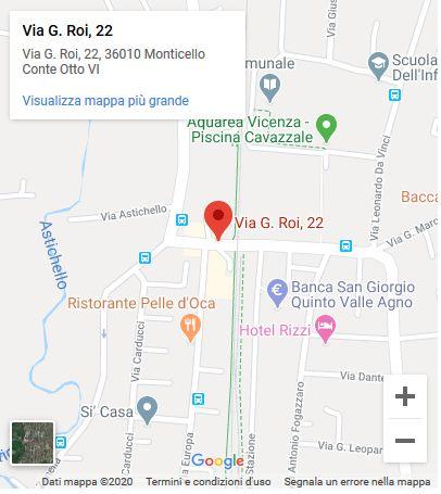 Studio dentistico Bagnasco & Trentin location map